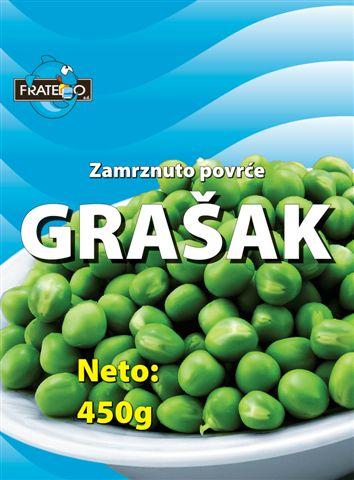 Fratelo Trade doo  Zamrznuto povrće Grašak