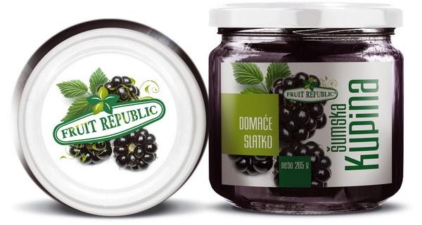 Ekofarm Fruit Republic Slatko od kupina