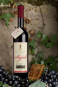 Vinarja Kopitović Vrhunsko crveno vino Sojak, Quality red wine
