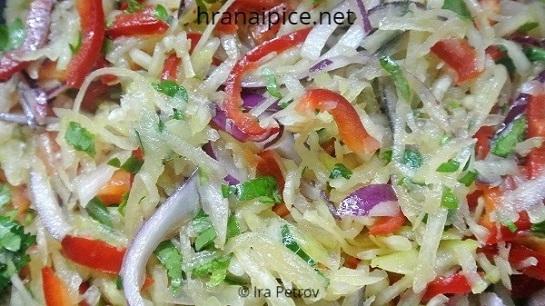 Salata od zelenog manga