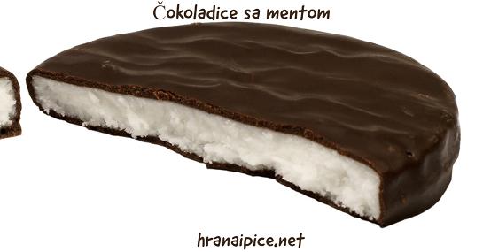 Čokoladice sa mentom