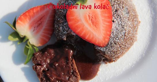 Recept za čokoladni lava kolač