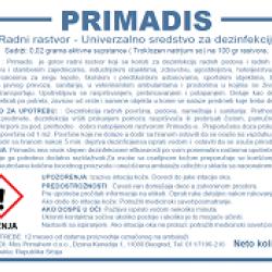 Dezinfekciono sredstvo Primadis