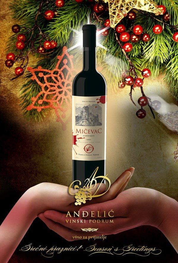 Podrum Anđelić Trebinje Crveno vino Mičevac barrique, Red wine