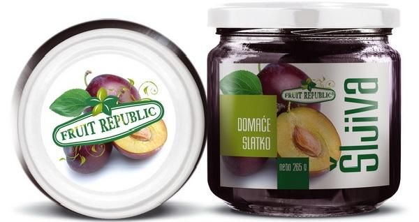 Ekofarm Fruit Republic Slatko od šljiva