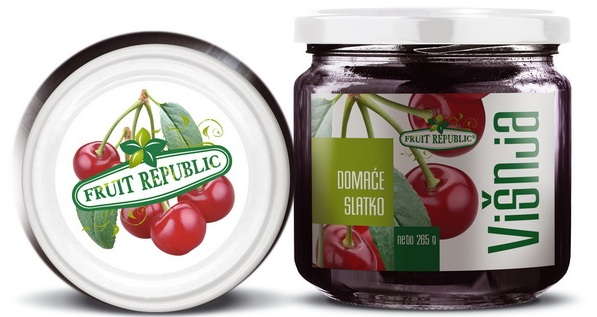 Ekofarm Fruit Republic Slatko od višnje