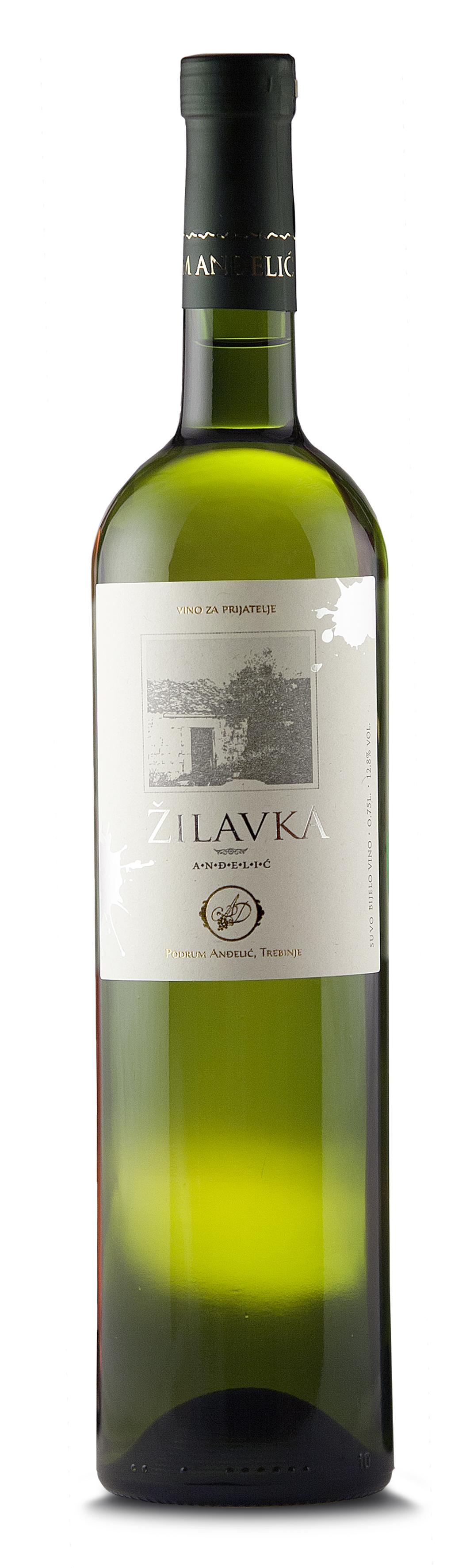 Podrum Anđelić Trebinje Belo vino Žilavka Anđelić, White wine