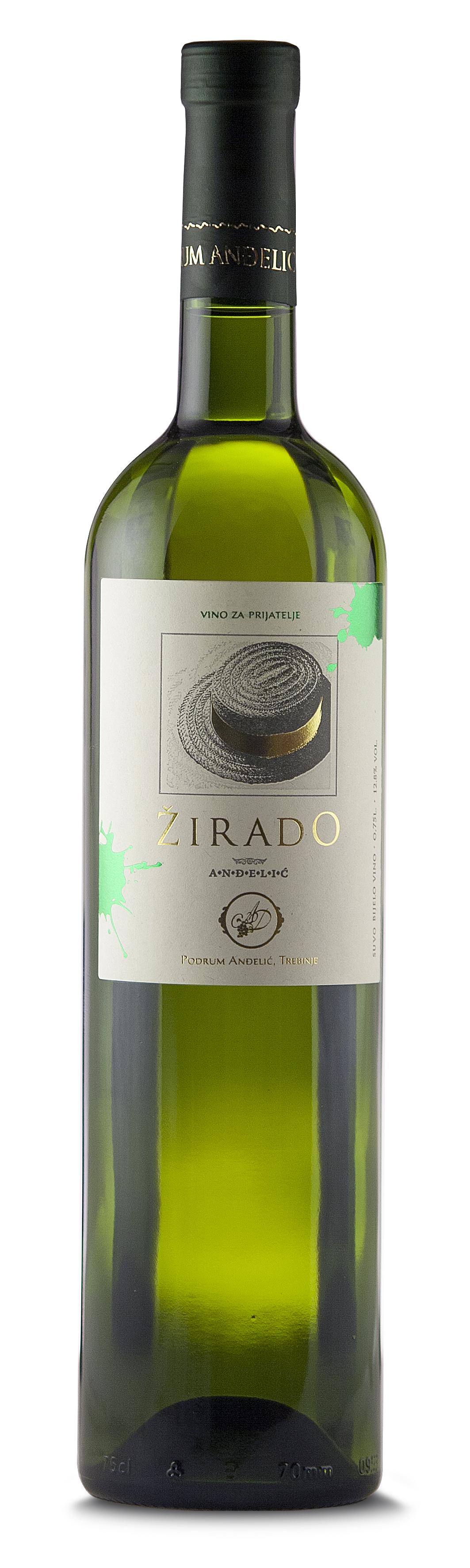 Podrum Anđelić Trebinje Belo vino Žirado, White wine