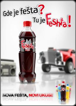 Elixir Natura doo Feshta cola