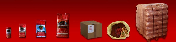 Delikates Spice & Pepper doo Martonoš Začinska paprika rinfuzno u džakovima :od 5, 10, 20, 25 i 40 kg, u kesicama: od 100, 200, 500 i 1000 g