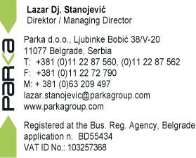 Parka doo Beograd kontakt
