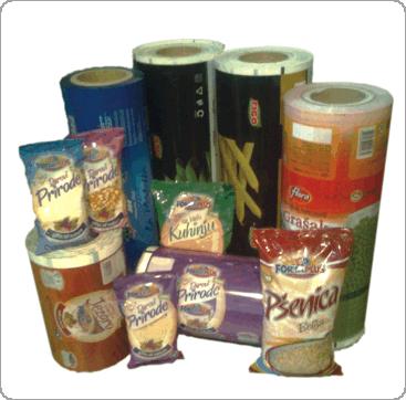 Blikprodukt vrećice od laminiranih folija sa srednjim varom